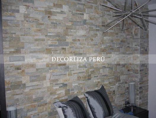 Fachaletas De Piedra Andina Decorliza Perú Decoraciones